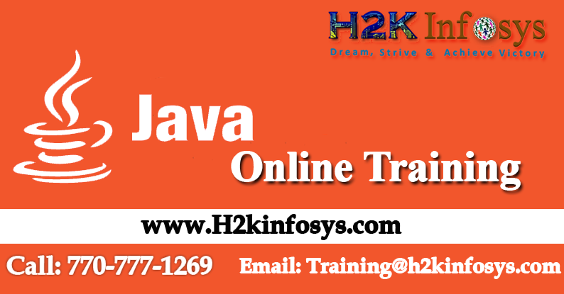 Java Online Training in USA-Attend Free Demo