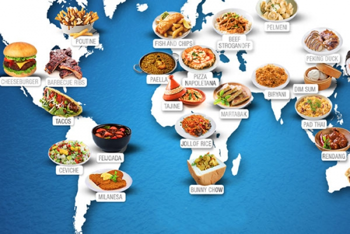 30 mouthwatering Dishes you must eat from around the world
