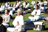 Yoga Day Celebrations Begin Across the Globe